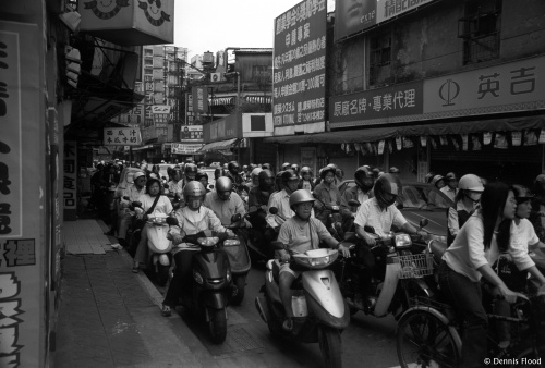 Morning Rush Hour in Taipei