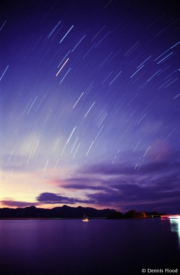Star Trails over Langkawi
