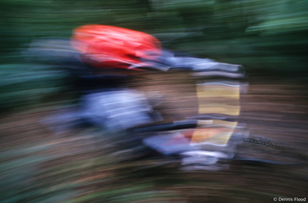 Red Helmet Blur