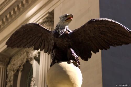 Penn Station Eagle