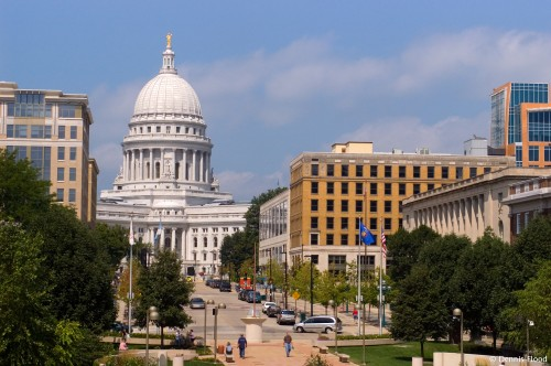 View of Downtown Madison