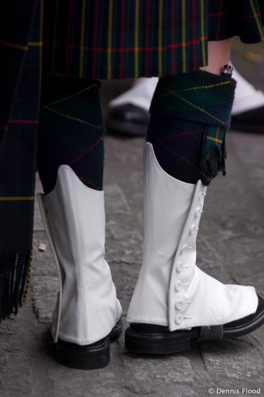 Bagpipe Spats