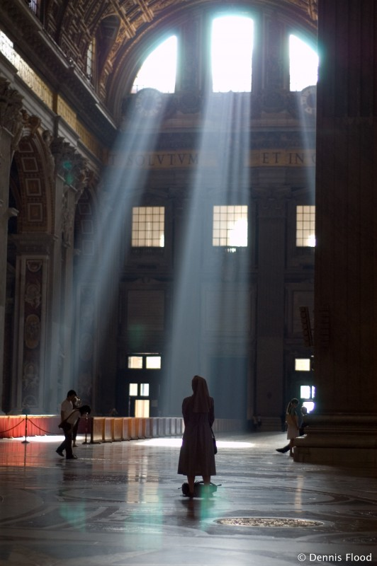 Beams of Light in St. Peter's