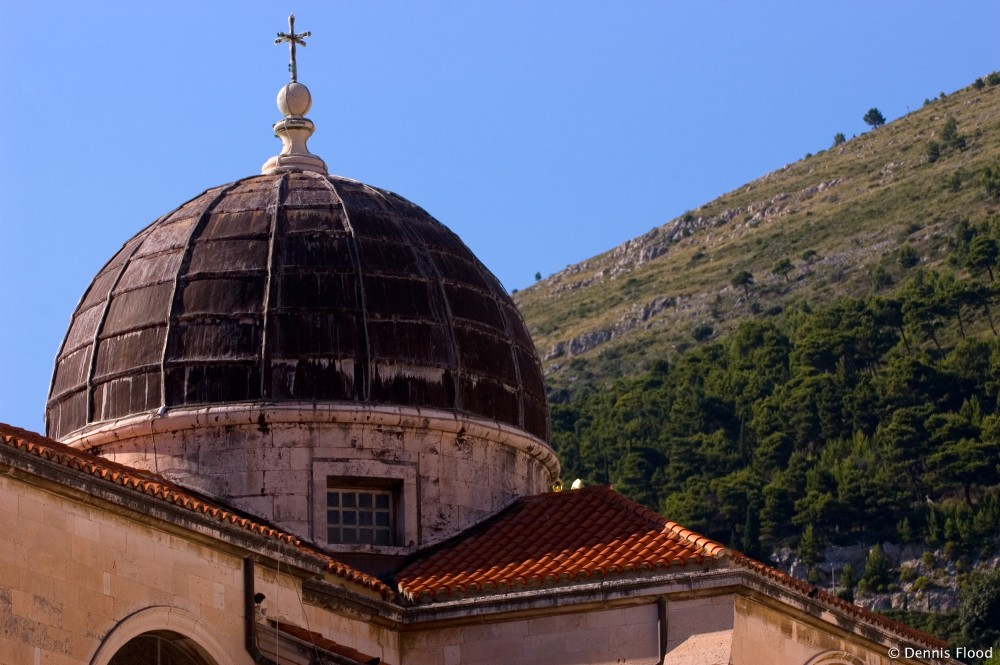 Dubrovnik Church Dome
