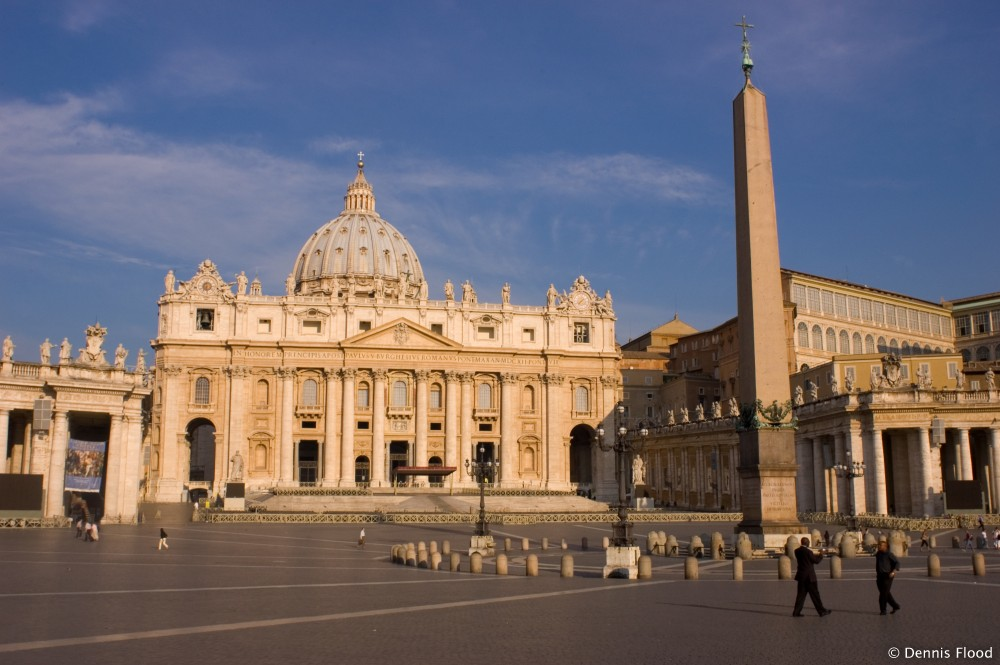 St. Peter's Square in the Early Morning