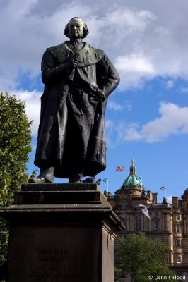Adam Black Statue