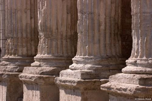 Aged Pillars