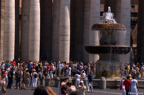 Crowd Fills St. Peter's Square