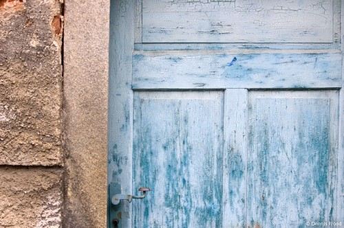 Faded Blue Door