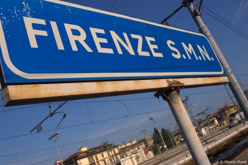 Firenze Station Sign
