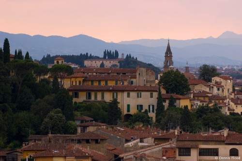 Florence Skyline at Sunset