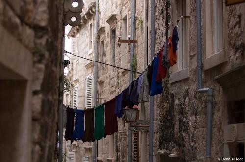 Hanging Laundry
