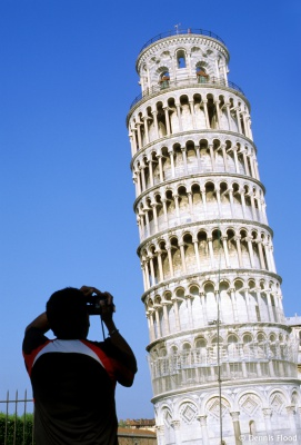 Leaning Tower of Pisa Photographer