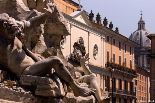 Piazza Navona Statues