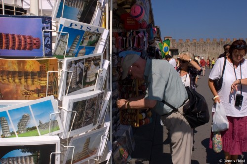 Postcards in Pisa