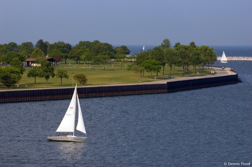 Sailboats Near Veterans Park