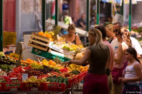 Shopping at the Morning Market
