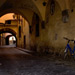 Bicycle in Arched Alley