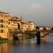 Arno River Scene in Florence, Italy