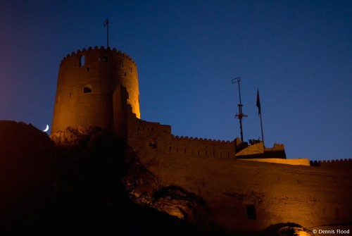 Muttrah Fort at Night