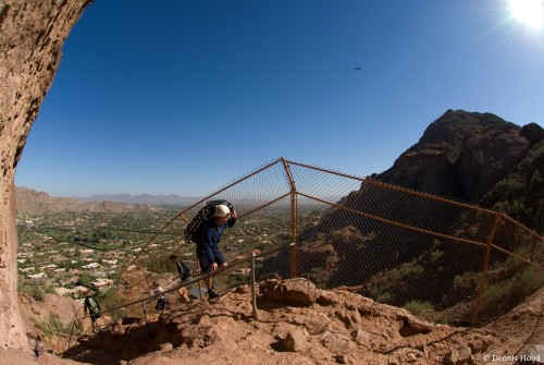 Paramedic Climbing Camelback Mountain