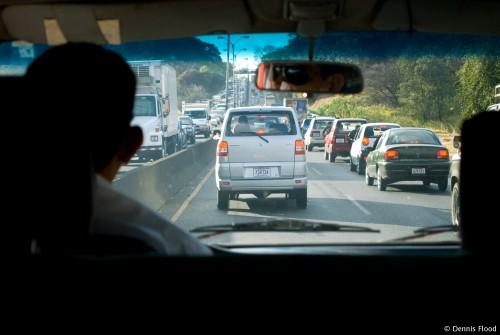 Heavy Rush Hour Traffic