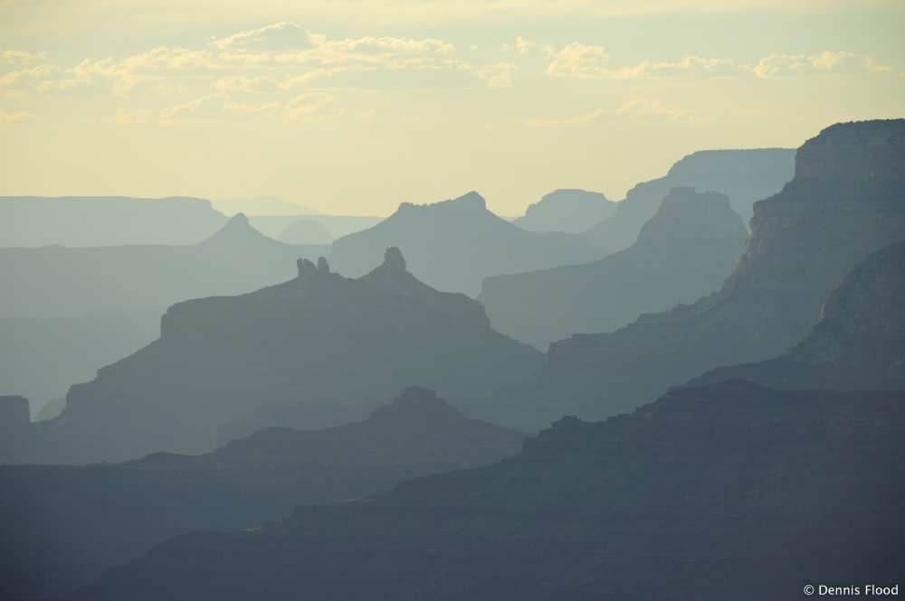 Grand Canyon Ridge Lines