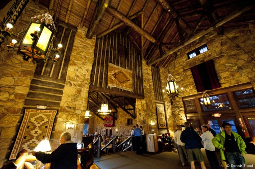 Grand Canyon Lodge Interior