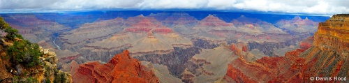 Grand Canyon South Rim Panorama