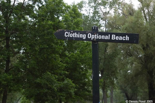 Clothing Optional Beach