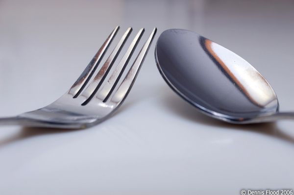 Fork and Spoon